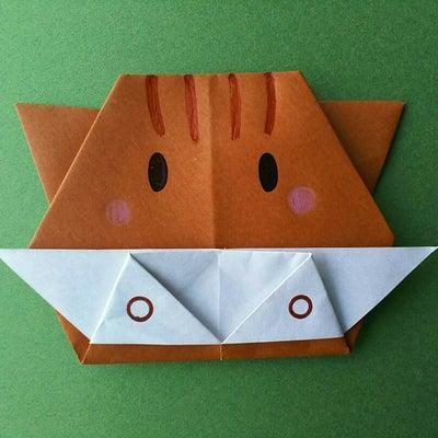 折り紙☆簡単!かわいい!イノシシ(亥)くん☆の記事に添付されている画像