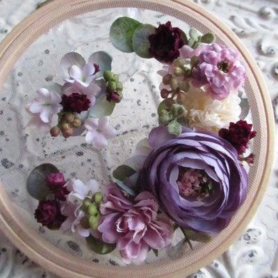 明日は「刺繍枠&カレイドフレーム」ワークショップです!!の記事に添付されている画像