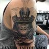 侍タトゥー:肩の画像