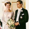 【デンマーク王室】マルグレーテ2世&ヘンリク王子 1967年6月結婚式の画像