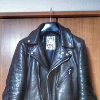 Lewis Leathers cyclone 経年変化レポート①の記事に添付されている画像