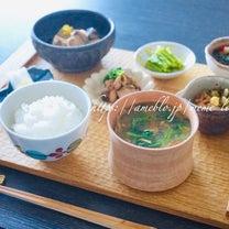 *お昼ごはん*〜残り物で和食〜の記事に添付されている画像