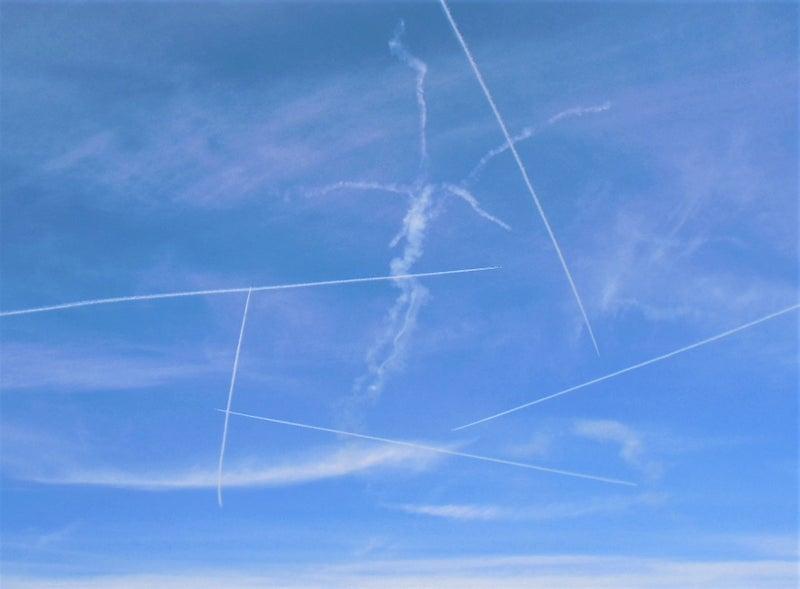 ブルーインパルスアクロバット飛行inエアフェスタ浜松星