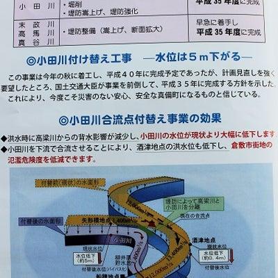 小田川付け替え工事始まる!の記事に添付されている画像
