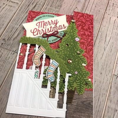 飾れるクリスマスカードの記事に添付されている画像