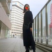 GU×キム・ジョーンズコラボニットワンピにチュールレーススカート合わせてみましたの記事に添付されている画像
