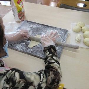 パン作りの画像
