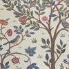 呉市リフォーム施工事例【ウィリアムモリス】のオーダープレーンシェード☆素敵な織りこみ鳥木デザインの画像