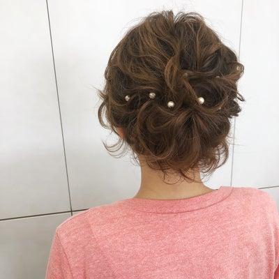 ショートのヘアセットの記事に添付されている画像