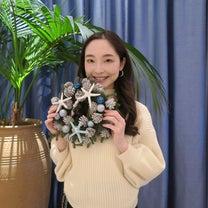 White X'mas Party★クリスマスリース作りの記事に添付されている画像