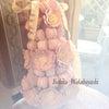 お花のマカロンタワー 完成!の画像
