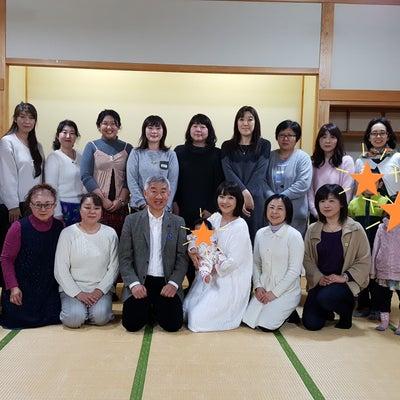 大上院勝先生・マドレーヌ道子先生の茶話会in能代盛会につき終了致しましたの記事に添付されている画像