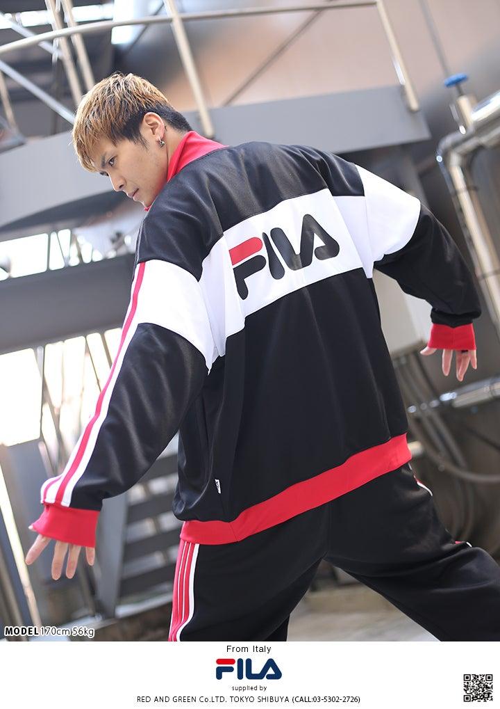131172ff5aa ... イタリア発のストリート系ブランド「FILA/フィラ」からオシャレなトラックジャケットが入荷!プレミアムスポーツ ウェアとして世界中で人気を誇るビッグブランド。
