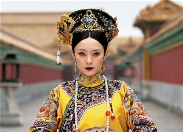 淘宝の中国宮廷ドラマの衣装と髪飾り