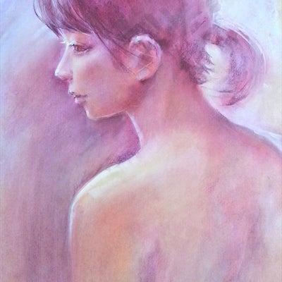 11月の人物画の記事に添付されている画像