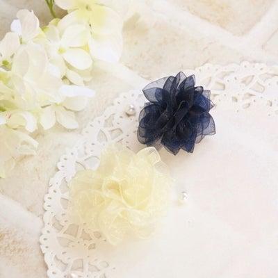 【作り方】リボンやレースで作るお花の記事に添付されている画像