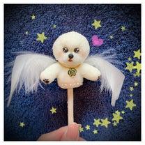 誕生日のドレスケーキの事前準備★犬天使エル様フィギュアを作ったよ!の記事に添付されている画像