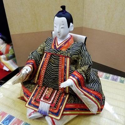 珍しい雛人形の記事に添付されている画像