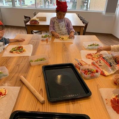 今月の子ども料理教室は手作り野菜ピザ!の記事に添付されている画像