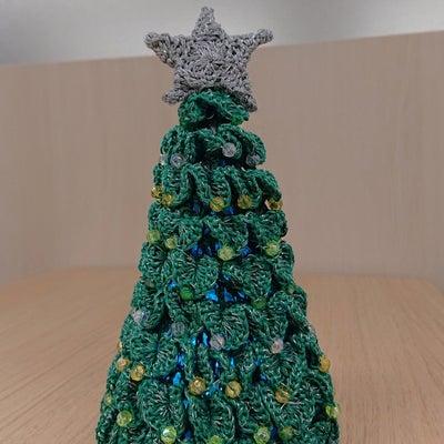 今年のクリスマス編み物作品の記事に添付されている画像