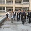 新設予定の「赤坂子ども中高生プラザ青山館」と「青山保育園」の視察
