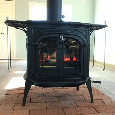 Wood burning stoveの記事に添付されている画像