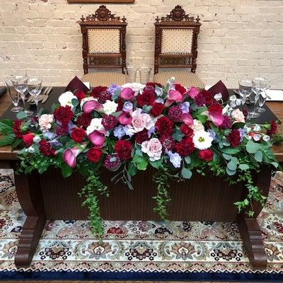 会場装花の記事に添付されている画像
