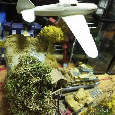 ハセガワ ハリケーンmk2c 夜間戦闘機 ② ~鉄道ベース③~の記事に添付されている画像