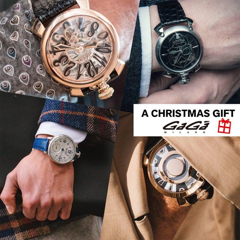 new product 0cabe 2541a Xmas Gift 特集】女性から男性へ贈るGaGa MILANOの腕時計 ...
