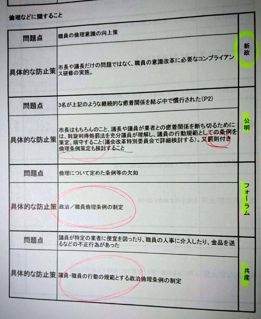 第6回 西貝塚環境センターの入札に係る調査特別委員会 開かれる