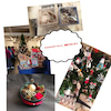 クリスマスマーケットの画像