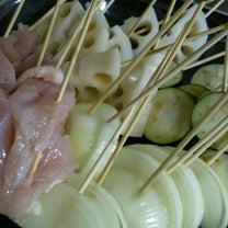 実家でご飯~串揚げの記事に添付されている画像