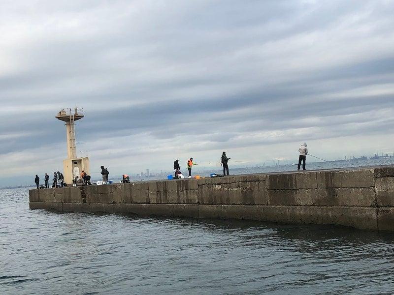 堤防 木更津 沖
