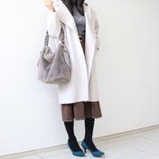 【暖かさも見た目も重視!】Xmasセールでポチした綺麗めコート♡