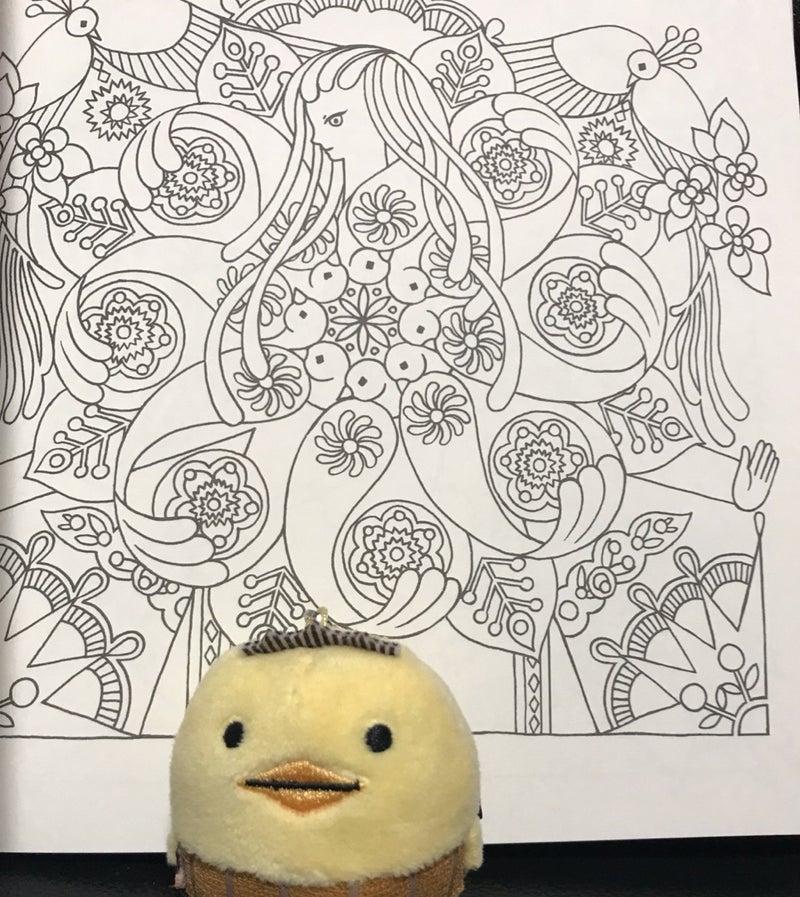 宇宙とつながるマンダラ塗り絵購入12月10日 楽しいコロリアージュ生活