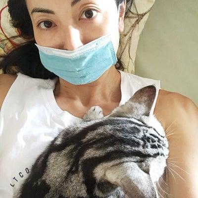 猫と一緒にの記事に添付されている画像