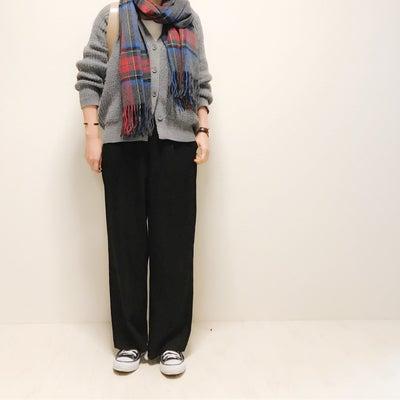 靴下見せたくない日に履きすぎなUNIQLOワイドパンツの記事に添付されている画像