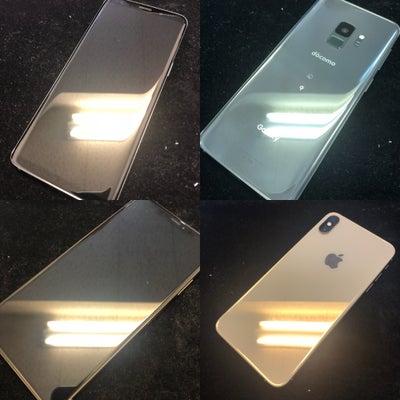 iPhone、Androidのガラスコーティング どっちが多い?! その①の記事に添付されている画像