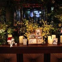 ✱当日レポ 14 高砂、ケーキテーブル、ゲスト卓等の装飾まとめの記事に添付されている画像