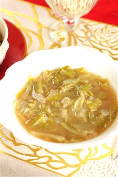 キャベツスープ クミン とろとろ