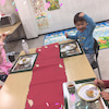 幼児クラス英語でスウィートポテト作り~(*^▽^*)【上田市子ども英語教室 立志スクール】の画像