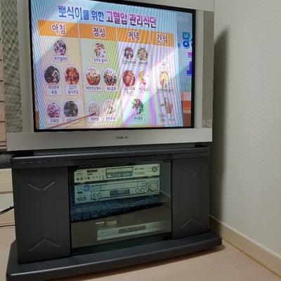 ソニーFDトリニトロン38インチのブラウン管TVの記事に添付されている画像
