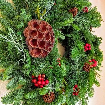 オレゴン産もみの木で、クリスマスリース作り・・・とオレゴン旅の思い出の記事に添付されている画像