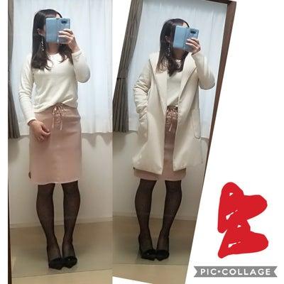 82日目~白×ピンクの綺麗めコーデ~の記事に添付されている画像