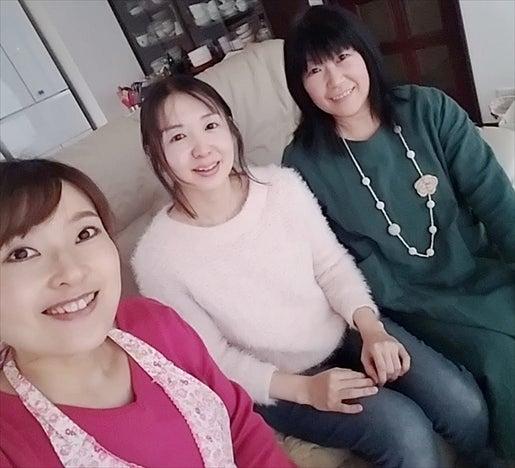 クリスマス料理レッスン 生徒さん 記念撮影