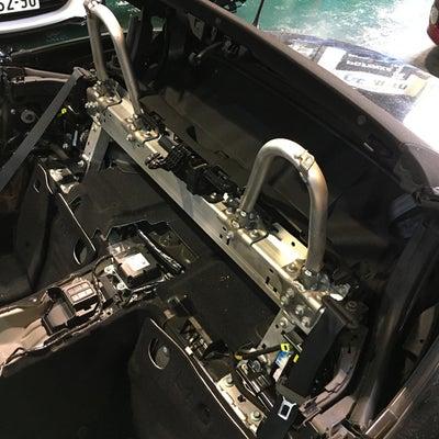 【安全装備】マツダ ロードスター ND5RC ロールケージ&4点シートベルト装着の記事に添付されている画像