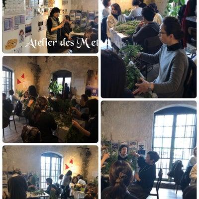 クリスマススワッグワークショップレポ@澎湃館の記事に添付されている画像