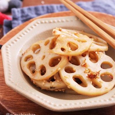 お弁当にもおつまみにも♡シャキシャキれんこんのマヨごましょうゆ炒め♡の記事に添付されている画像