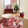クリスマスの季節だけのティーカップ〈Burleigh〉の画像