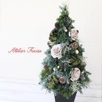 かわいいクリスマスツリーを卒業したら作りたい♪ リボンと木の実のシックな大人ツリの記事に添付されている画像